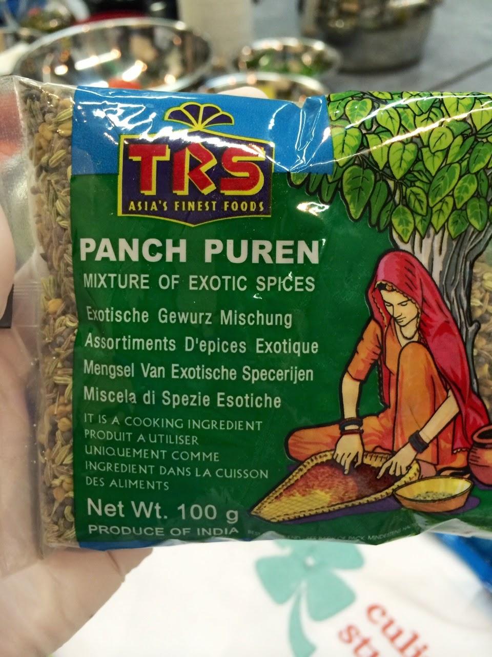 панч пурен, paanch phoran, panch puren