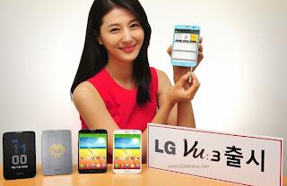 Lg Vu 3 Smartphone Dengan Chipset Snapdragon 800