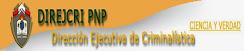 DIRECCION DE CRIMINALISTICA PNP