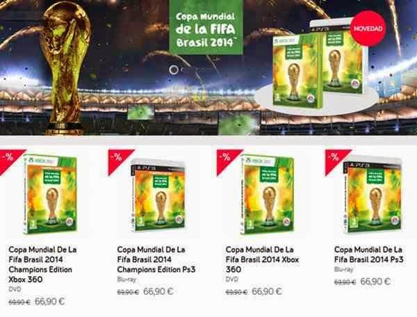 juego copa mundial fifa brasil 2014