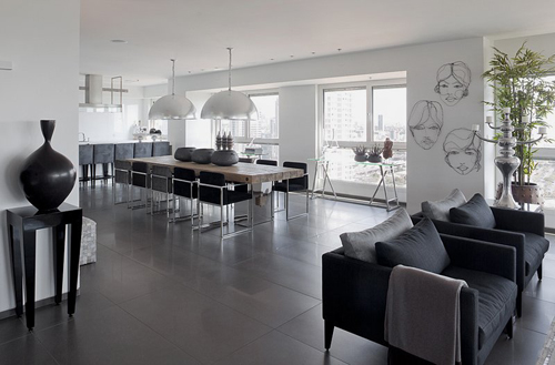 Gray Interior Design Ideas For Apartment