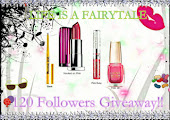 Life Is A Fairytale's 120 Followers Celebration Giveaway! =)