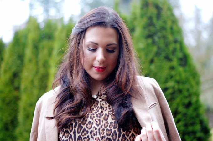Joe Fresh Leopard and H&M Coat