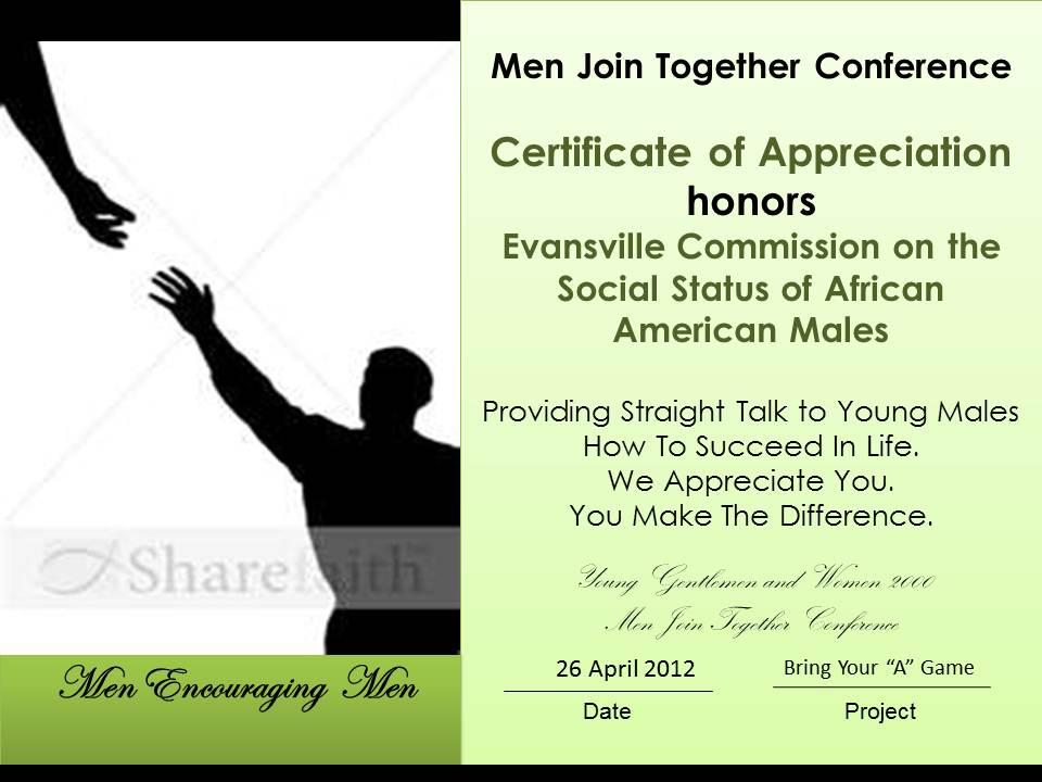 African American Pastor Appreciation
