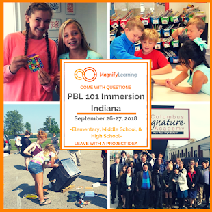 Want to see PBL in action? Attend our PBL 101 Immersion!