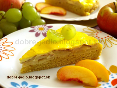 Jablkový koláč zo špaldovej múky - recepty