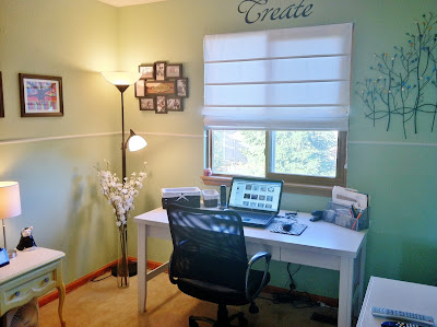 Jill Wright's Studio -- All Cleaned Up!