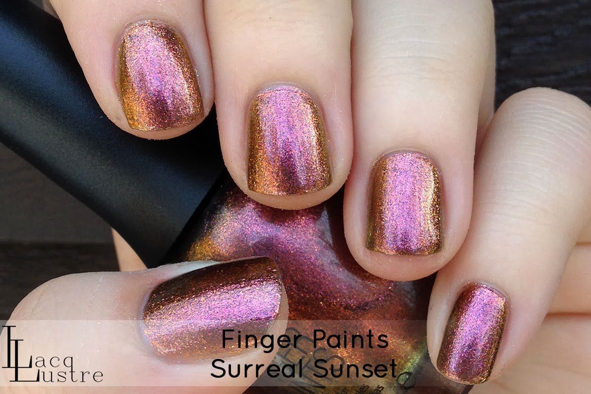 Finger Paints Surreal Sunset swatch