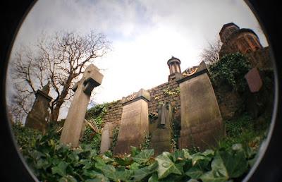 Southern Necropolis cemetery in Glagow, Scotland