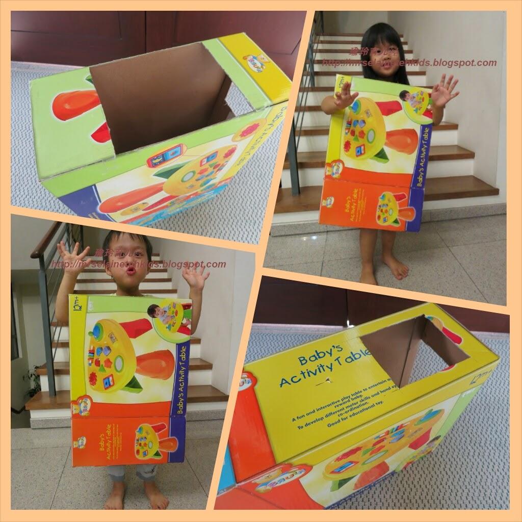 自制海绵宝宝箱子,可以穿在身上的海绵宝宝箱子,海绵宝宝箱子的制作