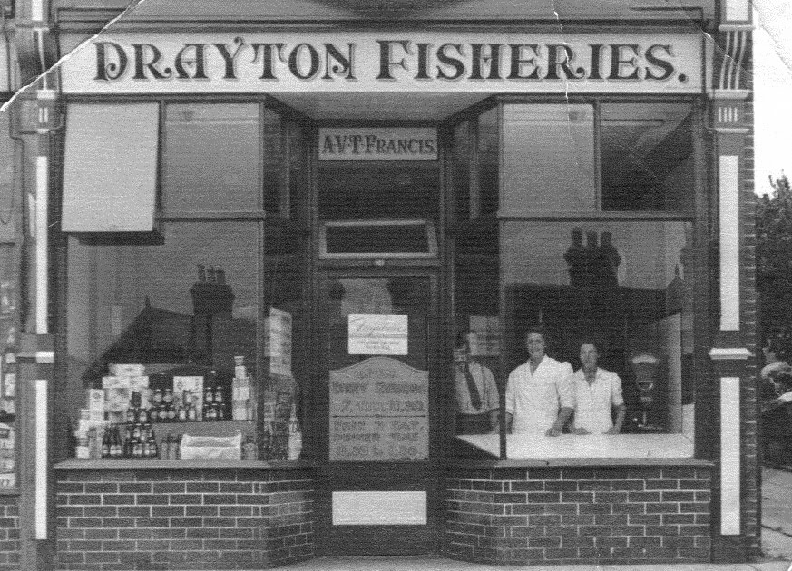Who remembers the Drayton Chip Shop?