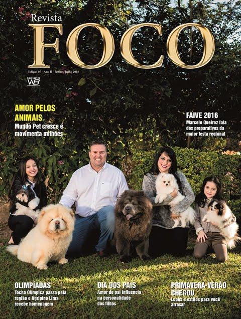 Leia a Revista Foco Junho/Julho - 16