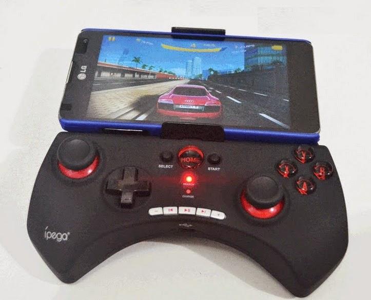cara setting gamepad moga ipega android game