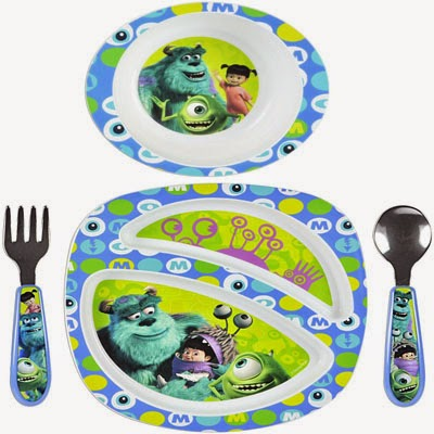 The First Years Feeding Set - Monsters Inc