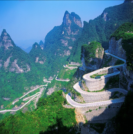 MONTES TIAN MEN. CHINA