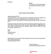 contoh cara membuat surat keterangan permohonan izin sakit ...