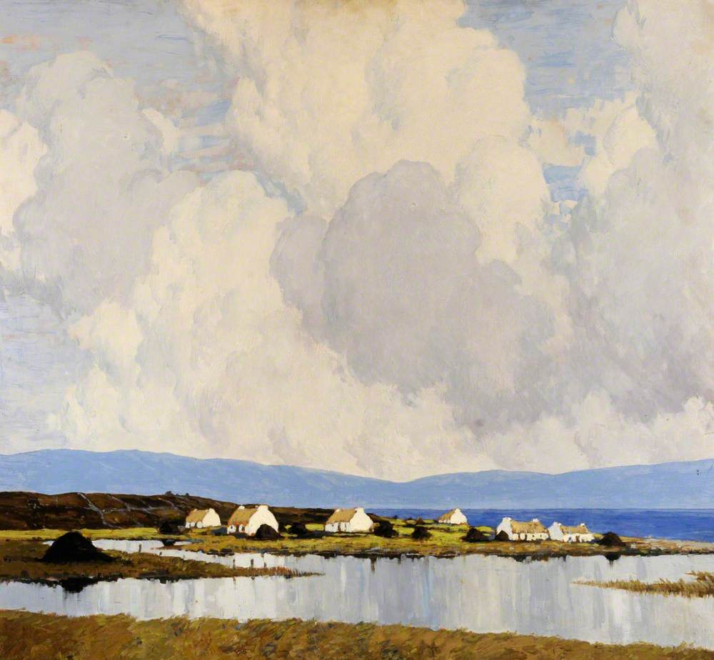 Paul  Henry  R.H.A.  The  Village  by  the  Lake