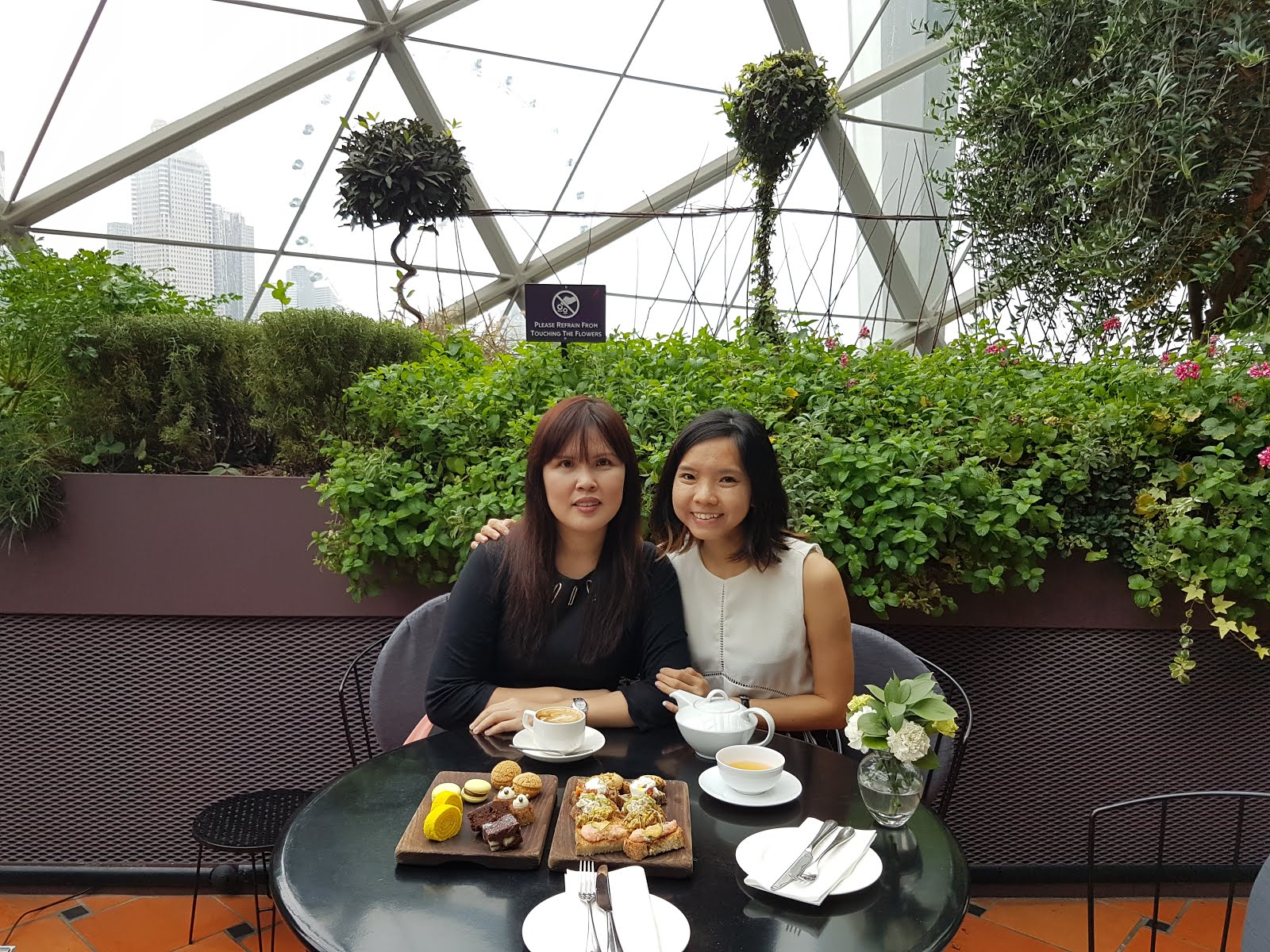 thanks to sis for the lovely treat at pollen just when i was feeling out and down - Garden By The Bay Breakfast