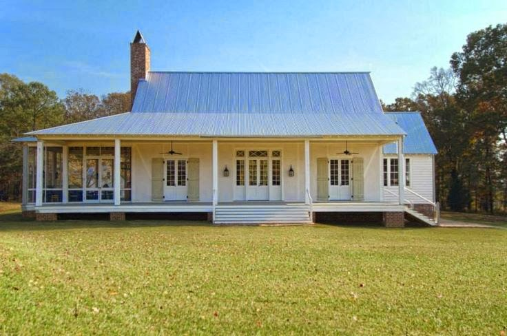 Inspired design inspired design white farmhouses for Southern farmhouse