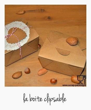 Boite biscuit carton vide