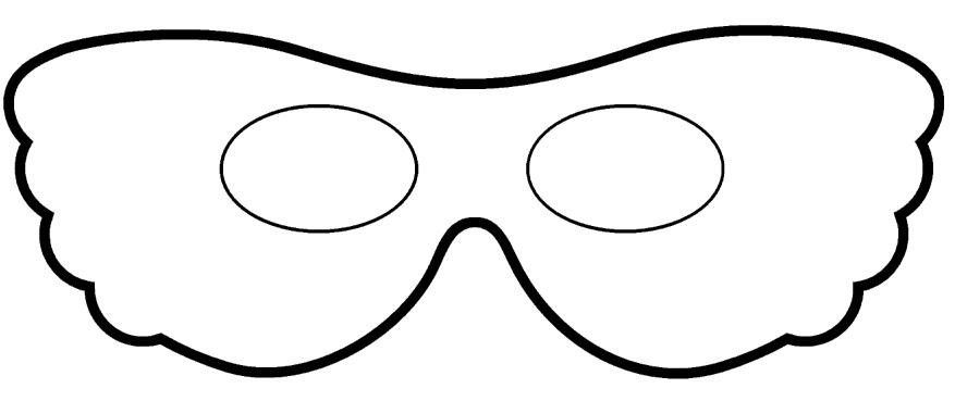 Mascaras y antifaces venecianos para colorear for Maschera di flash da colorare