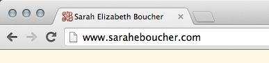 SarahEBoucher.com