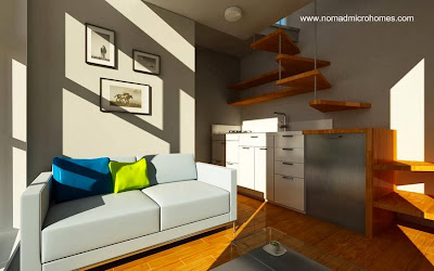 Ambiente de una micro casa