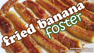 Fried Bananas Foster Recipe - No Bake Banana Desserts - Quick And Easy Dessert Recipes Ideas