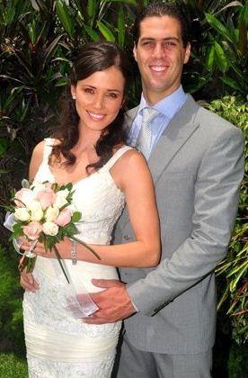 Maju Mantilla junto a su esposo Gustavo Salcedo