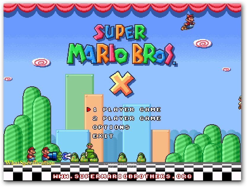 super mario bros x 1.3 download