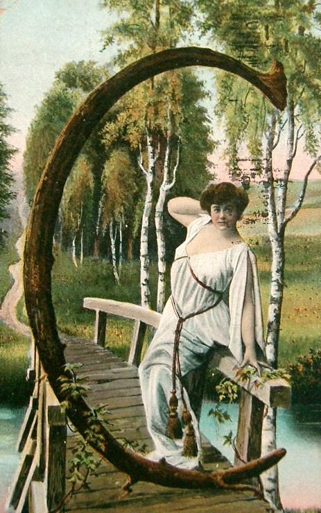 Letter art postcards