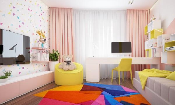 4 mẫu phòng ngủ đẹp cho trẻ em tại dự án Central Point Mỹ Đình 4