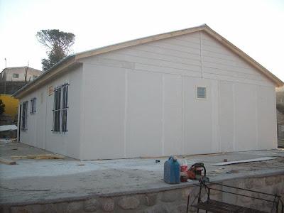 casas prefabricadas viviendas roca durante armado