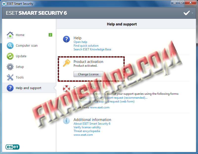 SAMEHADAKU: ESET NOD32 + Smart Security 6.0.308.0 Full Activation