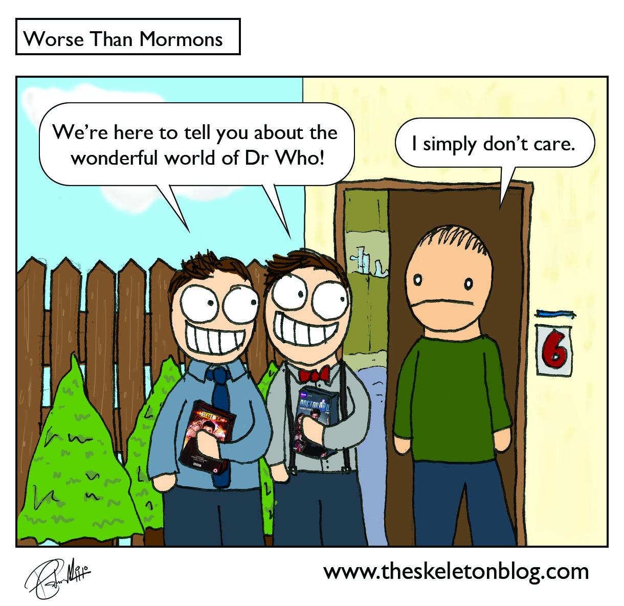 Free Comic Book Day 2013: Skeleton Blog: Worse Than Mormons