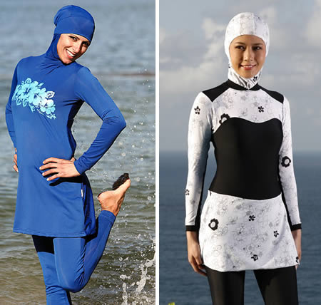 Sexiest and Craziest Bikinis Burkini