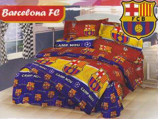Sprei Love Story Barcelona FC