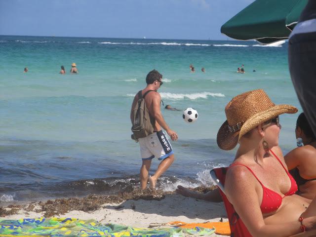 Miami Beach, soccer game,photos