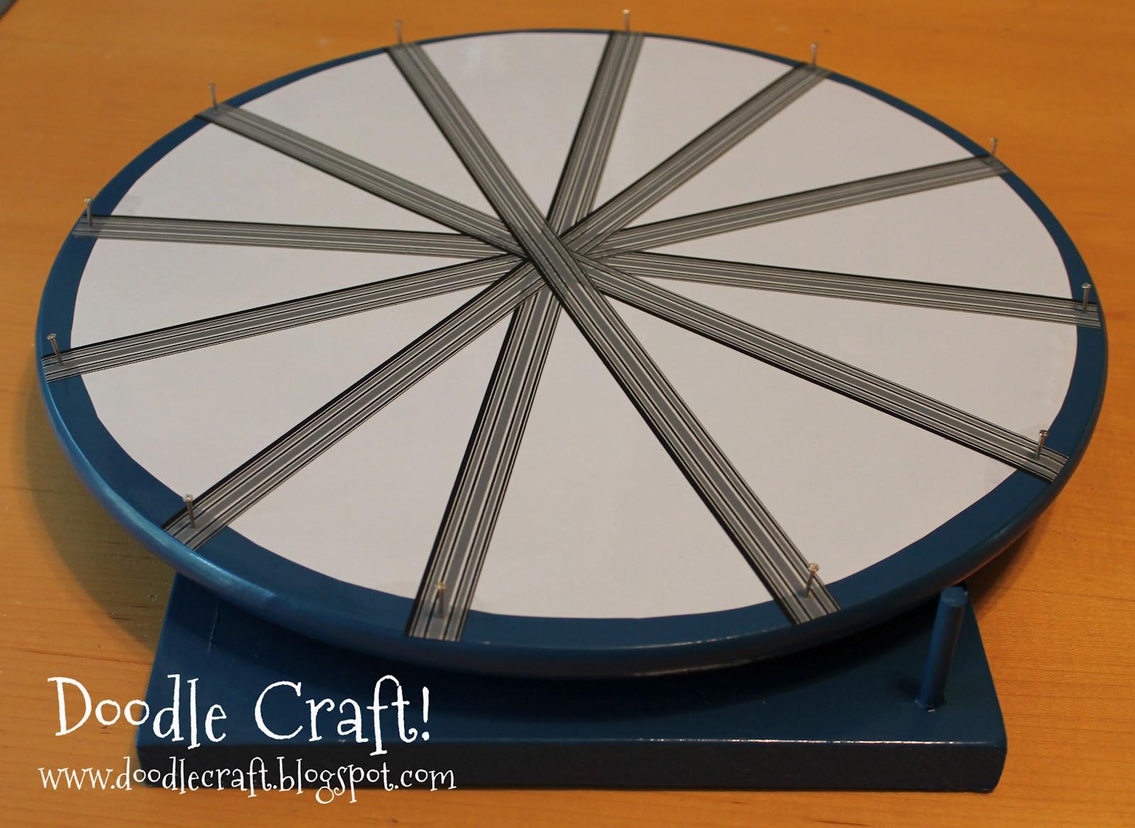 doodlecraft: super spinning prize wheel diy!, Powerpoint templates