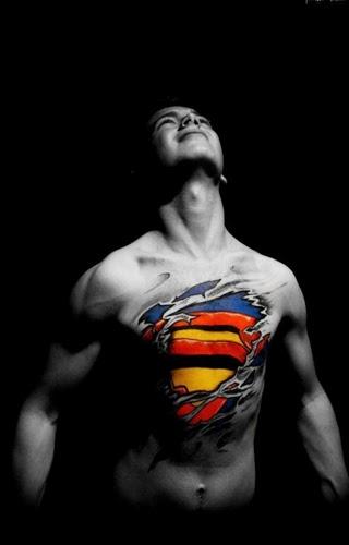 3D Graffiti Body Art