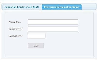 NISN | Mencari Nomor Induk Siswa Nasional | Indonesia 2012