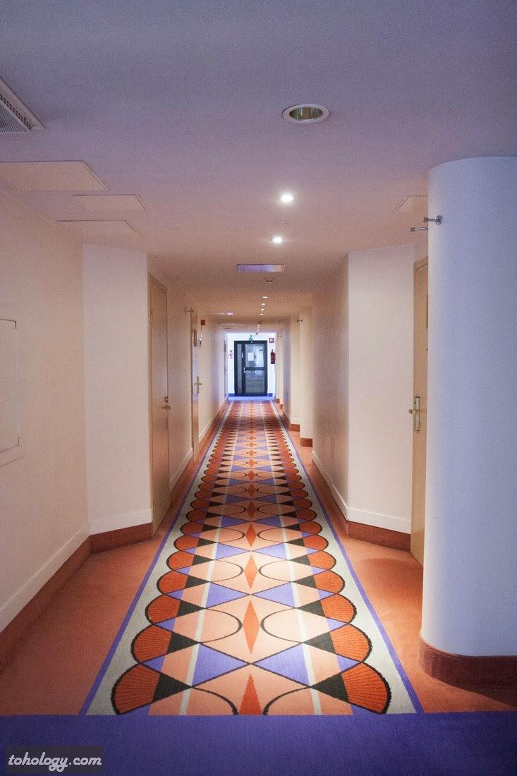 A floor in Original Sokos Hotel Vaakuna, Mikkeli // Один из этажей в отеле