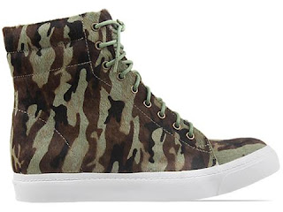 Jeffrey Campbell Flavia Hi Fur Sneakers