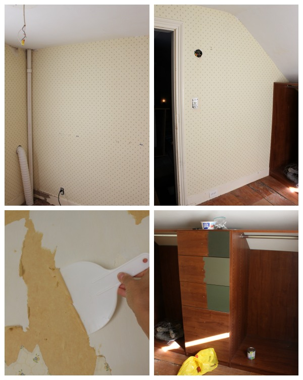 walk-in closet makeover prep steps