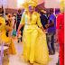 Toyin Lawani dazzles in yellow (Photos)