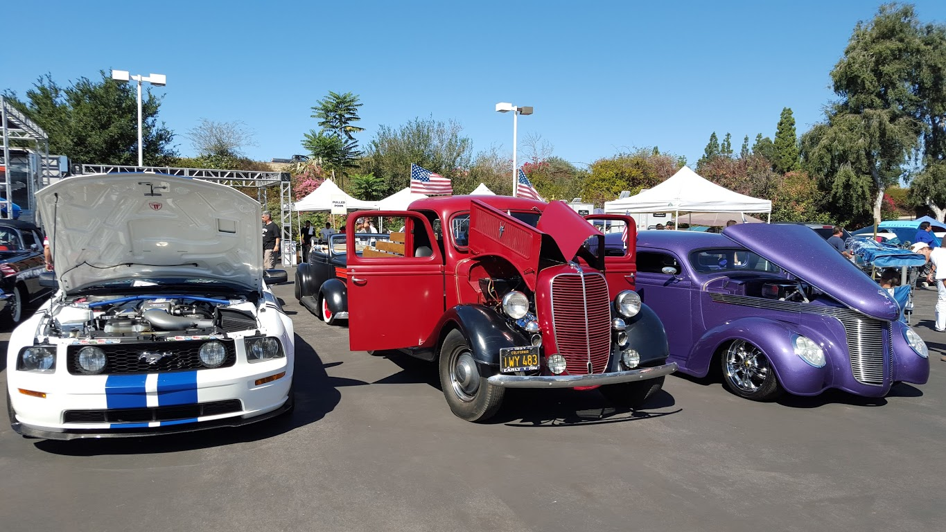 LA Entertainment Publicity MAYO PR Hot Cars And Hot Weather Go - Galpin ford car show
