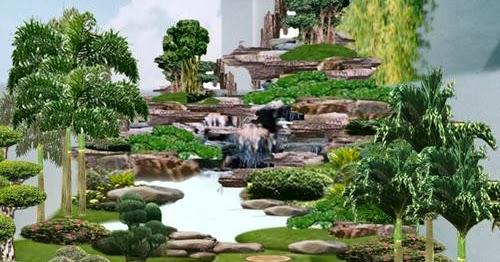 jasa pembuatan desain taman desain taman minimalis