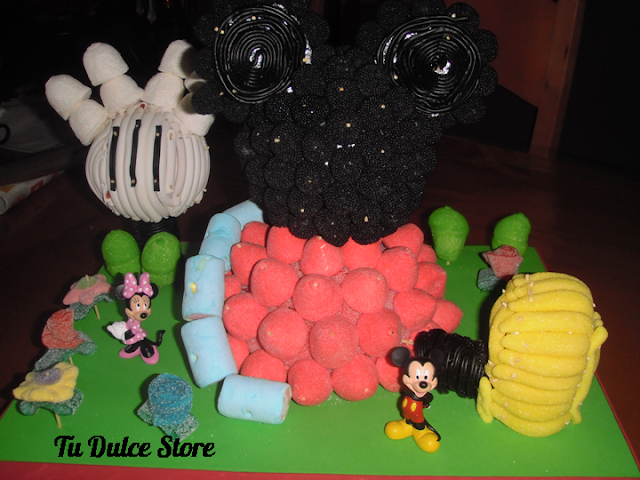 Imágenes de dulces de la casa de Mickey Mouse - Imagui
