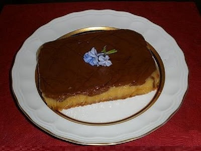 TARTA DE CHOCOLATE FLAN Y GALLETAS