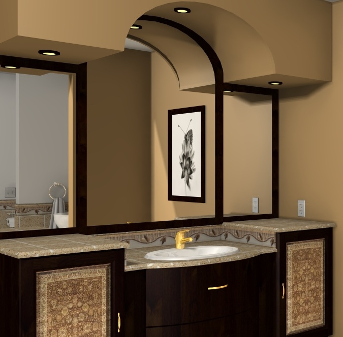 related bathroom decorating ideas